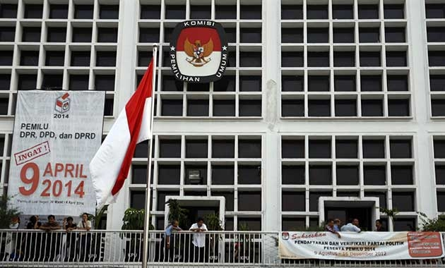 Indonesia's Election Commission (KPU). Image sinarharapan.co