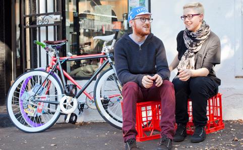 Random hipsters in Brunswick - www.au.timeout.com