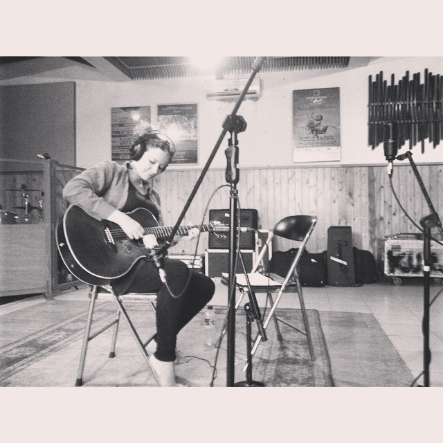 Recording at Studio Kuaetnika Padepokan yesterday